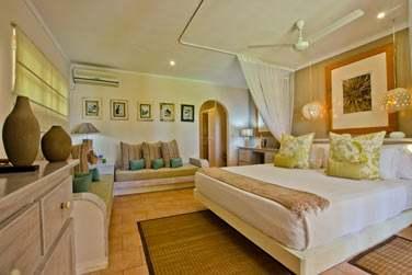 Les chambres, à la décoration très réussie
