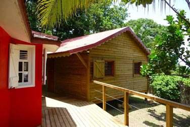Terrasse et extension de la Villa Ka'Mango