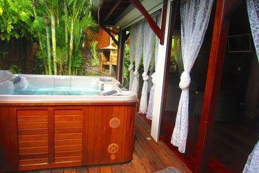 Villa Terdeho : le bain à remous