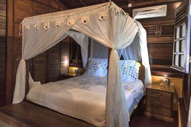 Villa Terdeba : La décoration d'une des chambres