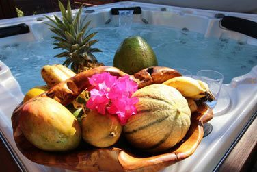 Vous apprécierez l'énorme panier de fruits tropicaux à l'arrivée dans votre villa