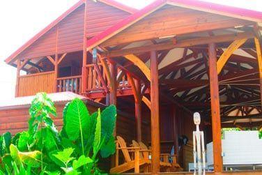 Villa Lagalante : Terrasse à l'étage