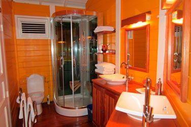 Villa P'tite Anse : la salle de bain