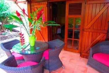 Villa P'tite Anse : le petit coin repos extérieur