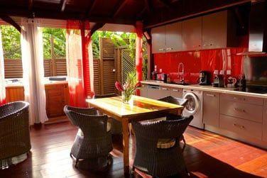 Villa Terdeho : la grande cuisine toute éuipée