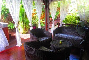 Vous apprécierez l'atmosphère douce et paisible de la villa Terdeba