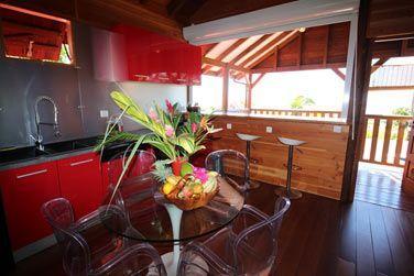 Villa P'tite Anse : la cuisine toute équipée