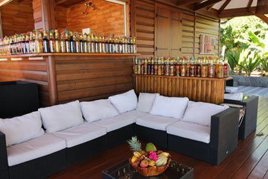 Une décoration sympathique et tropicale