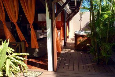 Villa Terdeho : un bel espace à vivre ouvert sur l'extérieur.