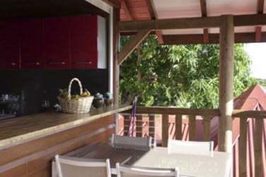 Villa lagalante : Terrasse extérieure et bain de soleil