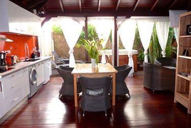 Villa Terdeho : Vue d'ensemble sur la pièce à vivre
