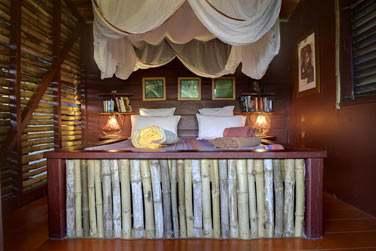 La chambre du Bungalow Bougresse