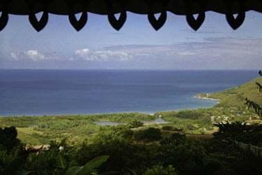 La vue depuis le Tendacayou