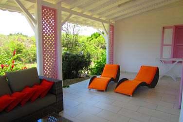 Le salon lounge extérieur