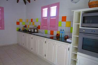 La cuisine de votre villa 3 chambres