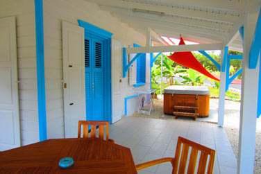 Une villa 1 chambre avec son petit spa privé
