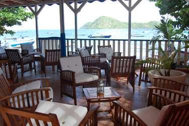 Le coin Restaurant en bord de mer