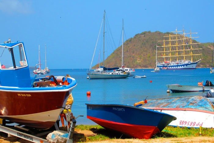 photo lô bleu - les saintes
