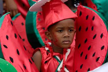 Au Carnaval coloré des enfants de Bouillante...