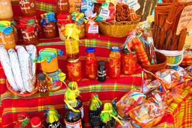 aux couleurs du marché local...