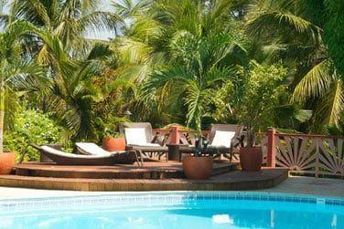 Isntallez-vous confortablement au bord de la piscine!