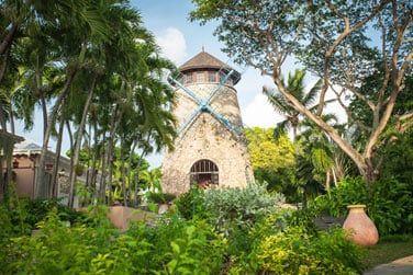 Le Relais du Moulin, au coeur d'une magnifique végétation tropicale...