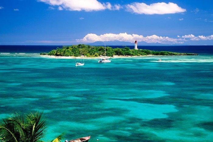 Combiné - Les 4 îles de Guadeloupe