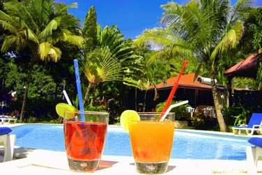 et tout proche de Deshaies et de la plage de Grande Anse: Ambiance chaleureue et détendue