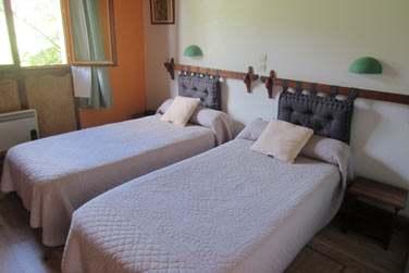 les 19 chambres de l'hôtel