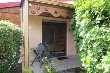 Avec la petite terrasse privative