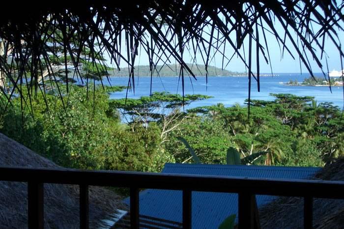 bungalow supérieur vue lagon (kitchenette)