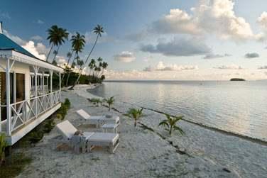 Opoa Beach vous accueillera confortablement...