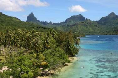Son lagon et ses très belles plages...