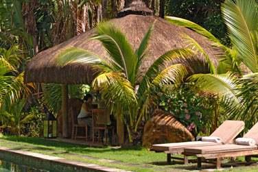Ici, profitez du silence et du farniente au cœur de la végétation tropicale...
