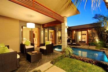 Toutes les villas disposent d'un jardin et d'une piscine privés