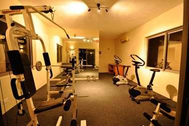 Les plus sportifs se retrouveront à l'espace fitness des Villas Athena