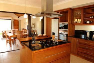 Les Villas 2 chambres possèdent également une cuisine parfaitement équipée