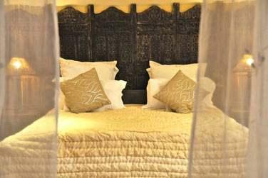 Décoration soignée, mobilier de bois, voilages... Les Villas 3 chambres sont également somptueuses