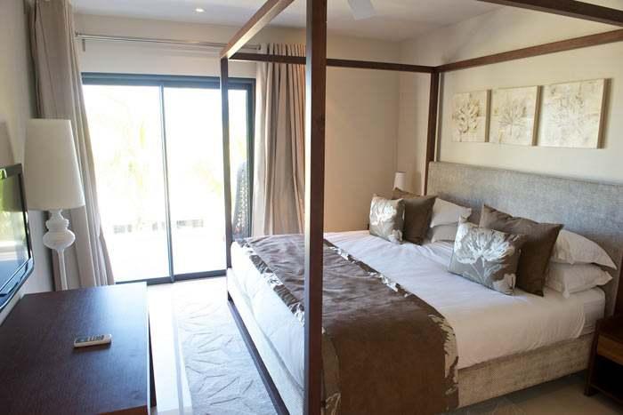 appartement premium 3 chambres (occupé par 6 personnes)