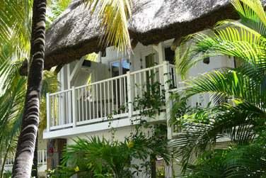 Les chambres Charme au coeur de la végétation tropicale