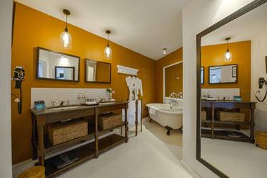 La salle de bain de la Suite