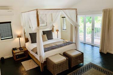 La chambre de la Villa