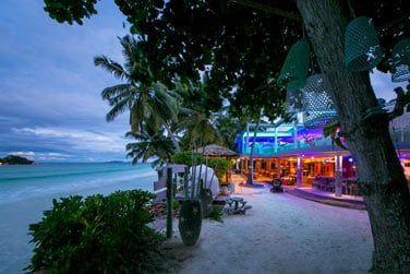 Découvrez le bar de la plage