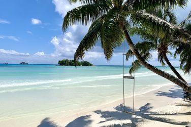 A quelques pas d'une plage simplement paradisiaque