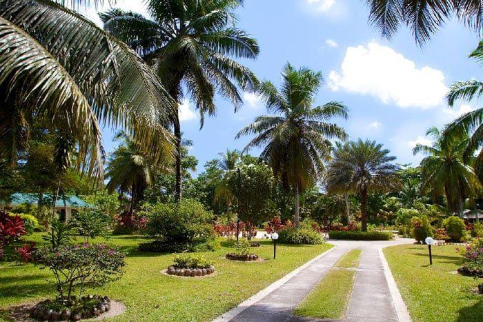 Photos h tel villas d 39 or seychelles for Villa jardin seychelles