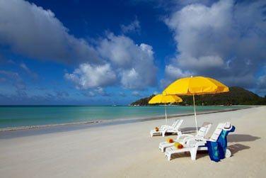 Profitez pleinement du soleil sur cette superbe plage paradisiaque.