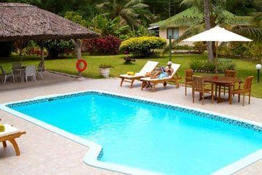 pour des moments de purs détente au bord de la piscine