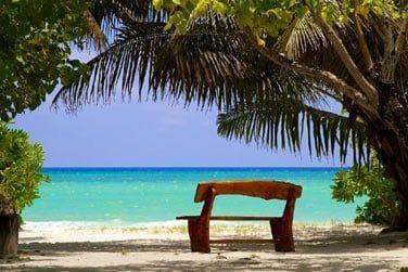 Un véritable bout de paradis où règne calme et sérénité...
