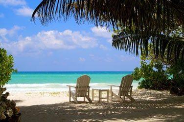 Et la sublime plage est juste là ...