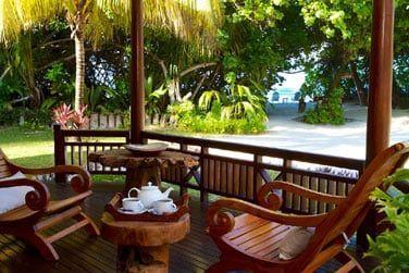Une terrasse privée et spacieuse pour partager de bons moments de convivialité